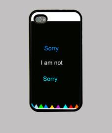 Funda iPhone 4, negra