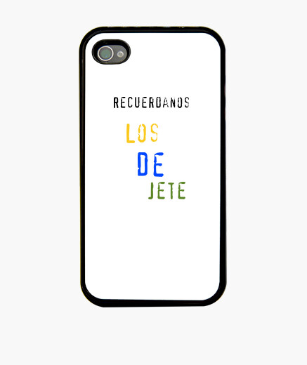 Funda iphone 4 negra n 317891 fundas iphone latostadora - Personalizar funda iphone ...