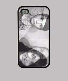 Funda iPhone 4, negra - FOTO DE PABLO Y BARBARA