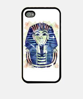 Funda iPhone 4, negra Egipto