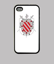 Funda iPhone 4, negra Esgrima Barajas