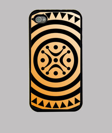 Funda iPhone 4, negra estela cantabra