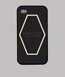 Funda iPhone 4, negra Tranquility Base Hotel + Casino | Arctic Monkeys