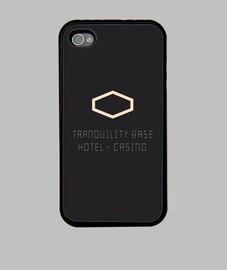 Funda iPhone 4, negra Tranquility Base Hotel + Casino   Arctic Monkeys