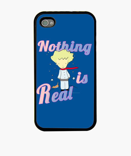 Funda iPhone 4 Nothing is Real Little Prince