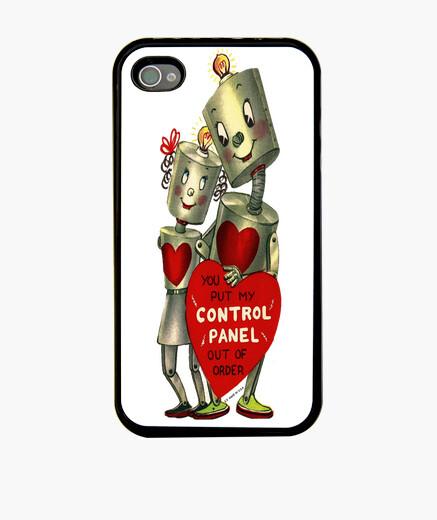 Funda iPhone 4 o iPhone 4S Amor robótico