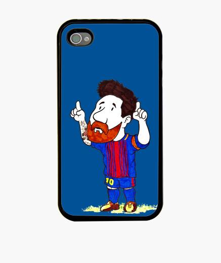 Funda iPhone 4, para el,para ella,regalo,messi,barcelona,futbol,