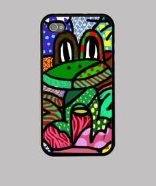 Funda iPhone 4, Rana Colores