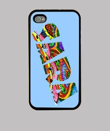 Funda iPhone 4, Sara-tangle