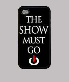 Funda Iphone 4 Show Must Go On