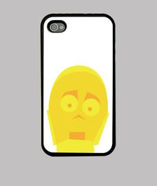 Funda iPhone 4 y 4s - C3PO