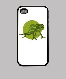 Funda iPhone 4 y 4s - Camaleón