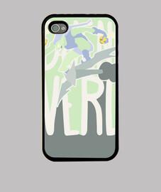Funda iPhone 4 y 4s - Duende Verde