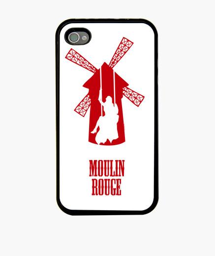 Funda iPhone 4 y 4s - Moulin Rouge