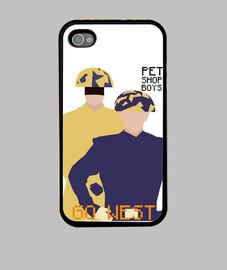 Funda iPhone 4 y 4s - Pet Shop Boys