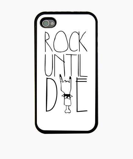 Funda iPhone 4 y 4s - Rock Until Die