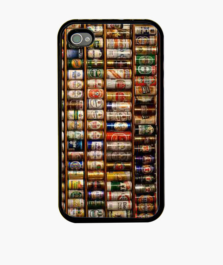 Funda iPhone 4 y 4S. Latas Cerveza