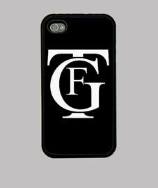 Funda iPhone 4 y 4S, negra