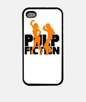 Funda iPhone 4 y 4s - Pulp Fiction