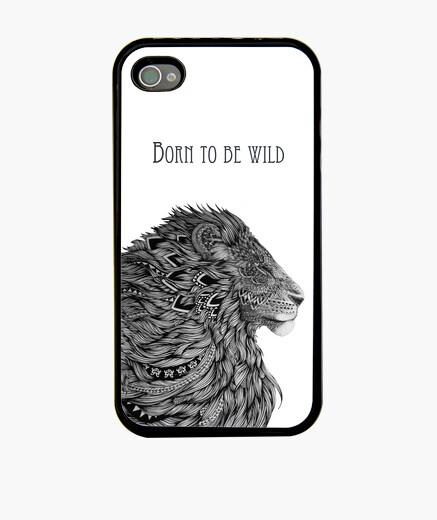 Funda iPhone 4S Born to be wild