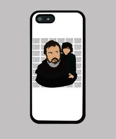 Funda iPhone 5 - Hodor y Bran
