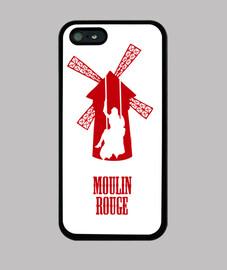 Funda iPhone 5 - Moulin Rouge