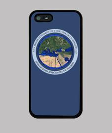 Funda iPhone 5 / 5s, Azul Logo