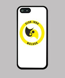 Funda iPhone 5 / 5s, negra club judo malaga