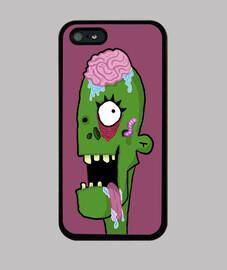 Funda iPhone 5 / 5s, Zombie Morada