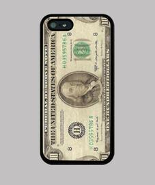 Funda iPhone 5 Billete de 100 dolares