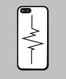 Funda iphone 5. Electro