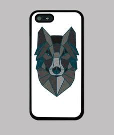 Funda iPhone 5 lobo