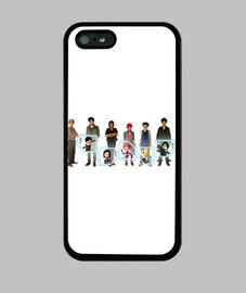 Funda iPhone 5 lyoko tierra
