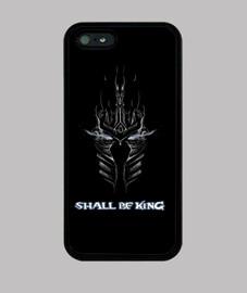 Funda iPhone 5 negra - Lich King