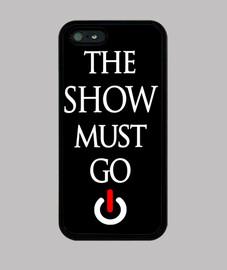 Funda Iphone 5 Show Must Go On