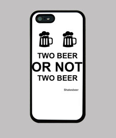 Funda iPhone 5. Two beer or not two beer