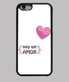 Funda iPhone 6 - Soy un amor