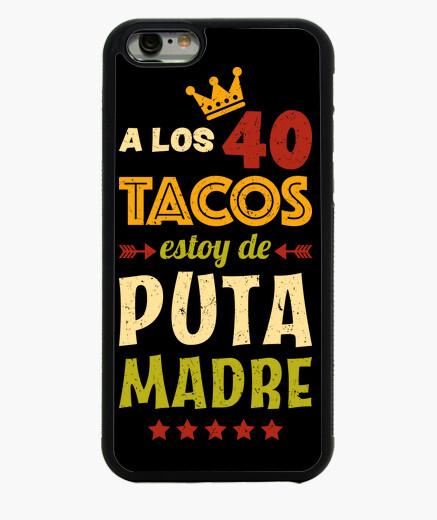 Funda iPhone 6 / 6S 40 Tacos