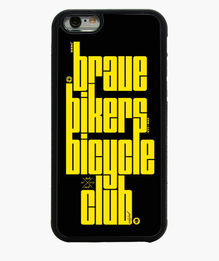 Funda iPhone 6 / 6S Brave Bikers Mafia Yellow iPhone6