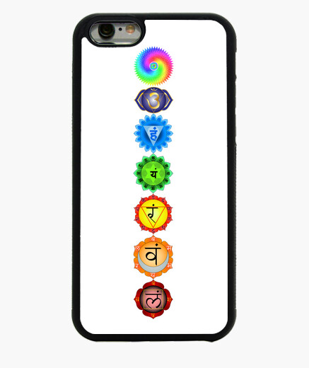 Funda iPhone 6 / 6S Chakras