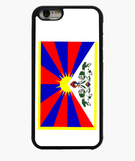 Funda iPhone 6 / 6S FREE TIBET FLAG