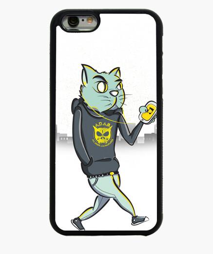 Funda iPhone 6 / 6S Gato Nocturno