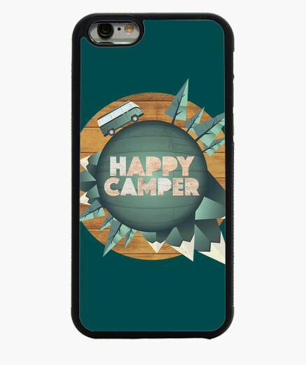 Funda iPhone 6 / 6S happy camper - feliz...
