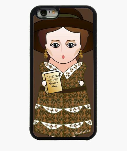 Funda iPhone 6 / 6S Kokeshi Virginia Woolf