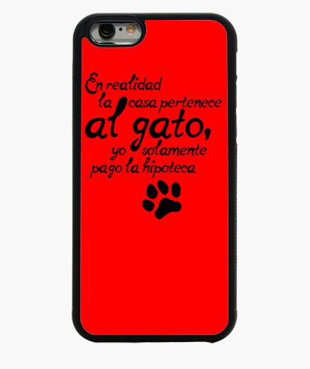 Funda iPhone 6 / 6S La casa es del gato