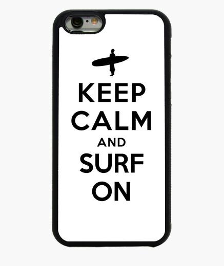 Funda iPhone 6 / 6S mantener la calma y...