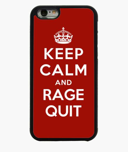 Funda iPhone 6 / 6S mantener la calma y la...
