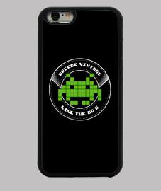 Funda iPhone 6 Arcade Vintage Logo Verde