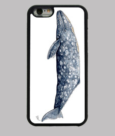 Funda iphone 6 Ballena gris
