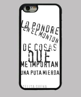 Funda iPhone 6, Blanca